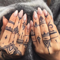 Earth Henna Tattoos Body Painting Kit uploaded by AlalizMakeup ..