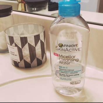 Garnier Skin Skinactive Micellar Cleansing Water All-In-1 Cleanser and Waterproof Makeup Remover uploaded by Vane G.