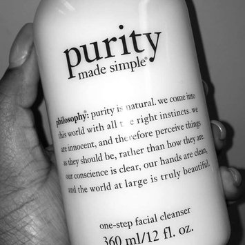 philosophy purity made simple one-step facial cleanser uploaded by Breezy B.