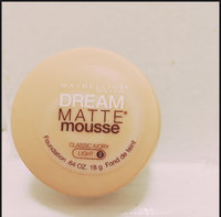 Maybelline Dream Matte® Mousse Foundation uploaded by Sara M.