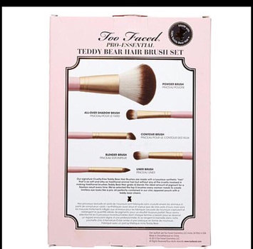 Too Faced Pro-Essential Teddy Bear Hair Brush Set uploaded by Willa M.
