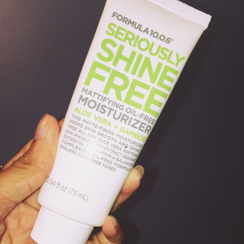 Formula 10.0.6 Seriously Shine Free Mattifying Oil-Free Moisturizer with Aloe Vera & Bamboo uploaded by Samantha R.