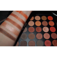 Morphe Brushes 35O 35 Color Nature Glow Palette uploaded by Kristen G.