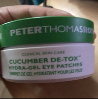 Peter Thomas Roth Cucumber De-Tox(TM) Hydra-Gel Eye Patches 60 Pads-30 Treatments uploaded by Jessica D.
