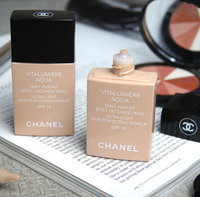 Chanel Vitalumiere Aqua Ultra-Light Skin Perfecting Sunscreen Makeup SPF 15 uploaded by Nicole G.