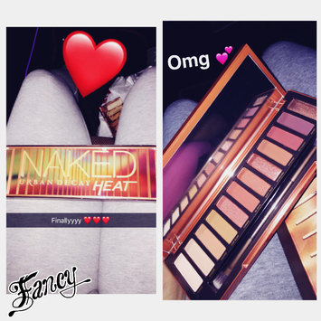 Urban Decay Naked Heat Eyeshadow Palette uploaded by Lonette G.