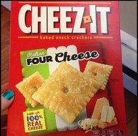 Cheez-it® Italian Four Cheese Crackers uploaded by Katelin L.