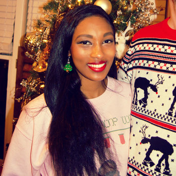 Photo uploaded to #HolidayLooks by Justiney R.