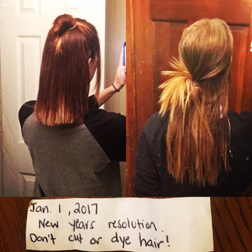 Photo uploaded to #NewYearNewHair by Kaitlin A.