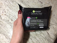 Garnier Skinactive Clean+ Purifying Oil Free Cleansing Towelettes uploaded by Cristina G.