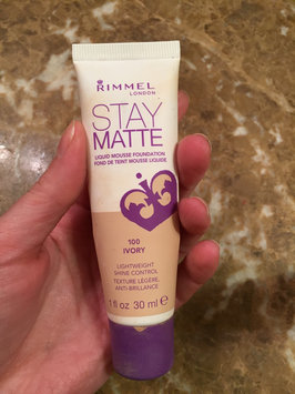 Photo of Rimmel London Stay Matte Liquid Mousse Foundation uploaded by Cristina G.
