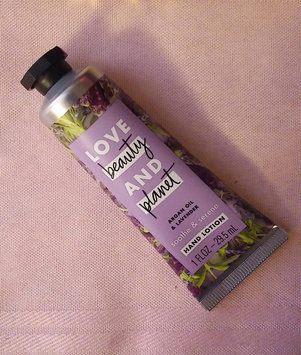 Photo of Love Beauty And Planet Argan Oil & Lavender Hand Lotion uploaded by Tasha H.