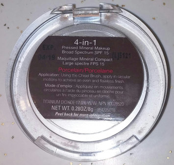 Photo of Pur Minerals 4 in 1 Pressed Mineral Make-up uploaded by Jackie L.