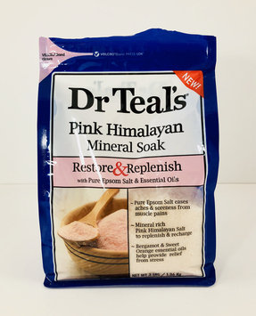 Photo of Dr Teal's® Restore & Replenish Pure Epsom Salt & Essential Oils Pink Himalayan Mineral Soak uploaded by Amy H.