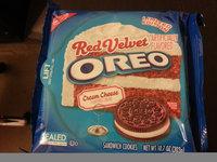 Nabisco Oreo Sandwich Cookies Red Velvet uploaded by Michelle K.