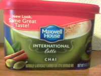 Maxwell House International Cafe Chai uploaded by Mary K.