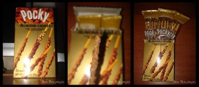 Glico Almond Crush Pocky Chocolate Covered Biscuit Sticks uploaded by Jenniret R.