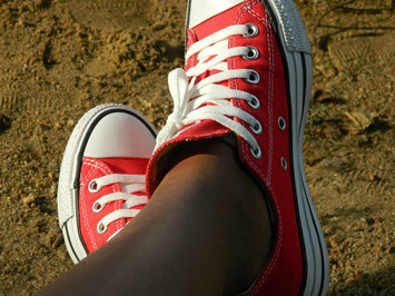 Photo of Converse Chuck Taylor All Star Canvas Low Red 5 uploaded by Genedra T.