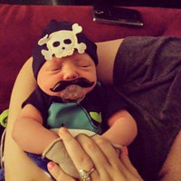 Funny Black Mustache Pacifiers for Infant Baby Toddler uploaded by Chrissy K.