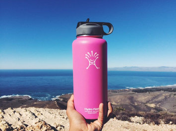 Photo of Hydro Flask Insulated Wide Mouth Stainless Steel Water Bottle, 32-Ounce [] uploaded by Hannah Q.