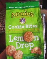 Annie's ® Homegrown Organic Lemon Drop Cookie Bites uploaded by Christy R.