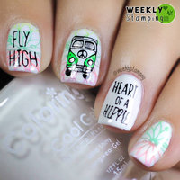 Bundle Monster Plate Nailart Nail Stamp uploaded by Sinead R.