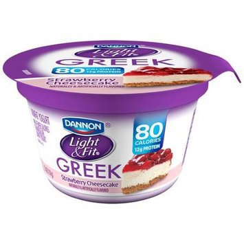 Photo of Dannon® Light & Fit® Greek Blended Nonfat Yogurt Strawberry Cheesecake, Toasted Coconut Vanilla & Lemon Meringue 5.3oz 18 pack uploaded by Nathan N.