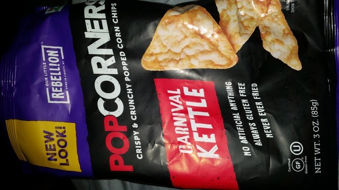 Popcorners Kettle Popped Corn Chips uploaded by Quinetta N.