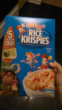 Kellogg's Rice Krispies Cereal uploaded by Carolina P.
