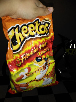Cheetos Flamin' Hot Crunchy Cheese Flavored Snacks uploaded by Yarissa L.