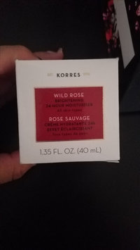 Photo of Korres Wild Rose 24-Hour Moisturizing & Brightening Cream 1.4 oz uploaded by Angelica C.