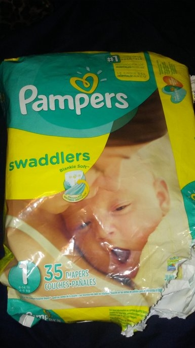 Pampers Swaddlers Diapers  uploaded by Olivia P.