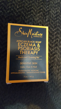 Photo of SheaMoisture African Black Soap Eczema & Psoriasis Therapy uploaded by Stephanie F.