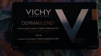 Vichy Dermablend Corrective Compact Cream Foundation 12Hr uploaded by Jessica M.