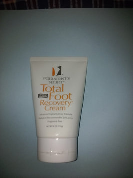 Podiatrist's Secret Total Foot Recovery Cream, 8oz. uploaded by Ezell B.