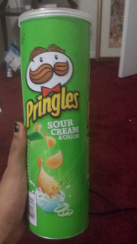 Pringles Potato Crisps Sour Cream & Onion uploaded by amreen s.