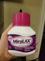 MiraLAX Laxative Powder uploaded by Erica R.