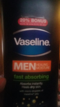 Photo of Vaseline® Men Healing Moisture Fast Absorbing Lotion uploaded by Amber R.