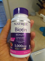 Biotin Natrol  Fast Dissolve Cherry Flavored Supplement 1 uploaded by bree w.