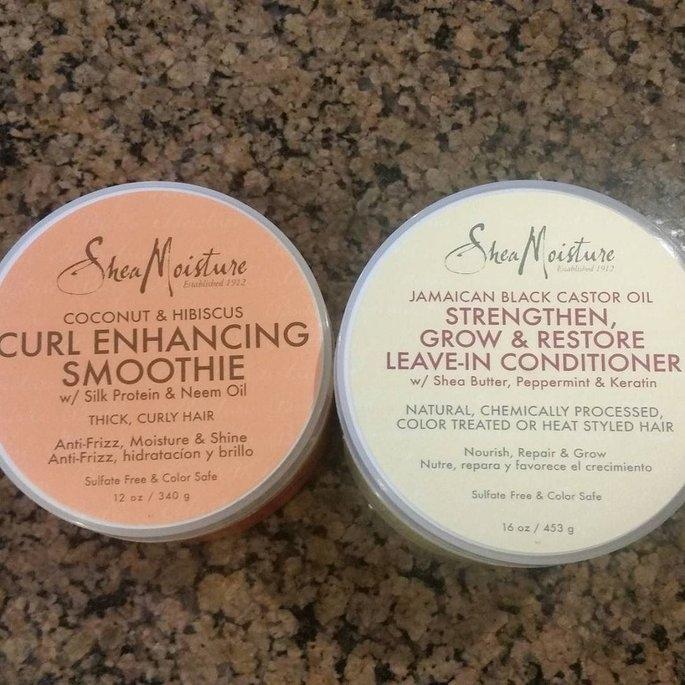 Sheamoisture SheaMoisture Strengthen, Grow & Restore Edge Treatment, Jamaican Black Castor Oil, 4 oz uploaded by Jlyne H.