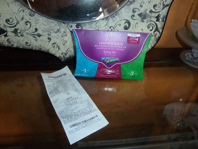 Poise® Impressa™ Sizing Kit Bladder Supports 6 ct Pouch uploaded by Franciska G.