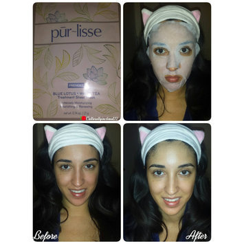 Photo of Purlisse Blue Lotus and White Tea Treatment Sheet Mask uploaded by Amanda G.