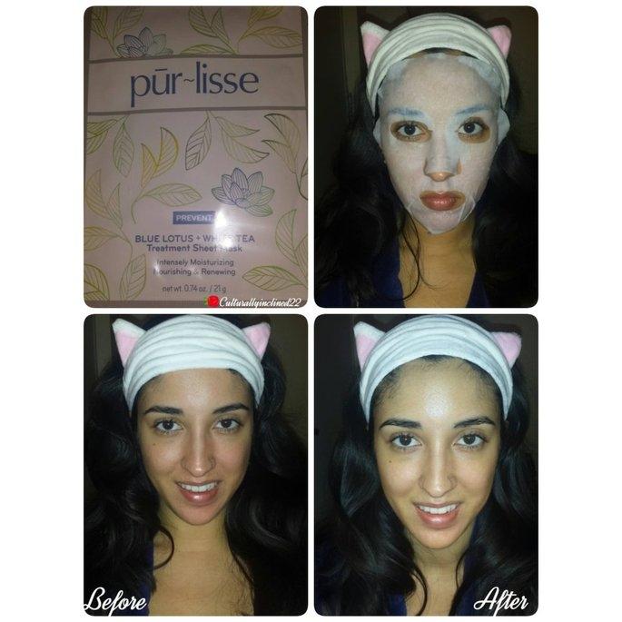 Purlisse Blue Lotus and White Tea Treatment Sheet Mask uploaded by Amanda G.