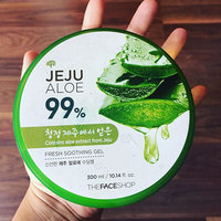 The Face Shop - Jeju Aloe 99% Fresh Soothing Gel 300ml 300ml uploaded by Sonali B.
