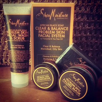 Photo of SheaMoisture African Black Soap Clarifying Mud Mask uploaded by Esma H.