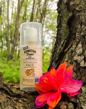Photo of Hawaiian Tropic Silk Hydration Sunscreen Face Lotion with SPF 30 - 1. uploaded by Alyee H.