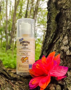 Photo of Hawaiian Tropic® Silk Hydration Weightless SPF 30 Face Sunscreen uploaded by Alyee H.