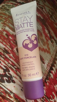 Rimmel Stay Matte Liquid Mousse Foundation uploaded by Chrissy K.