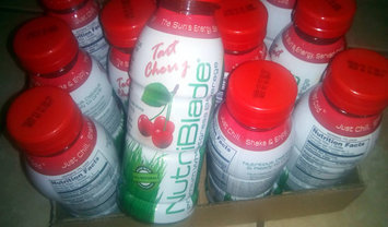 Photo of NutriBlade Premium Wheatgrass Beverage Organic Tart Cherry -- 12 fl oz uploaded by Charnita F.