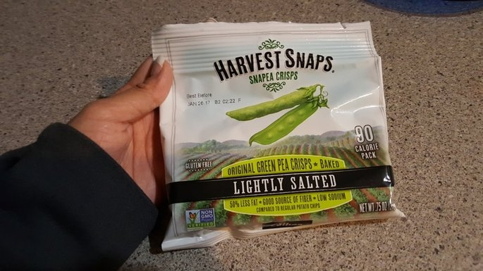 Harvest Snaps Snapea Crisps Lightly Salted uploaded by Annemarie D.